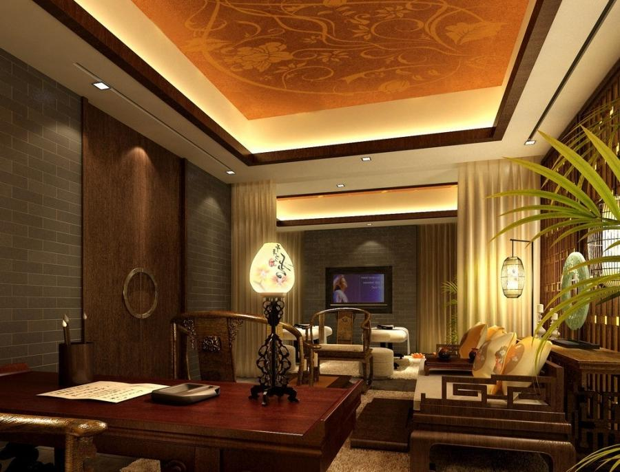 Classical Interior Wall Design 3D House Free 3D House Source