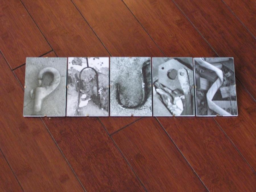 Clip Glass Photo Frames