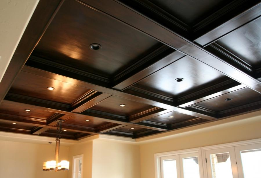 Cool Wood Ceiling Design For Modern House