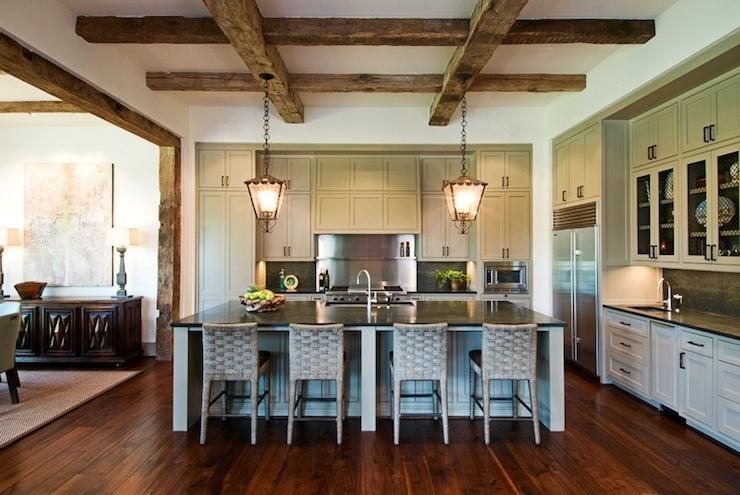Dillon Kyle Architecture - kitchens - wood beams, exposed wood...