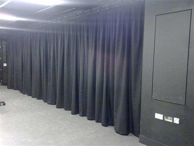 Black Photo Studio Curtains
