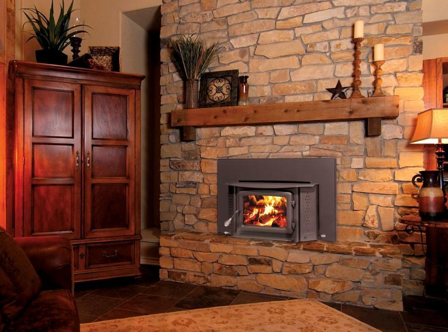 Wood Fireplace Photos