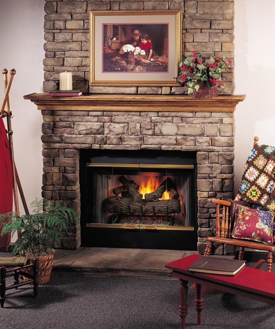 Fireplace Flange Photo