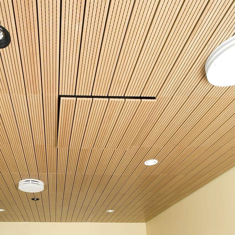 Wood suspended ceiling tile - SOLO-T