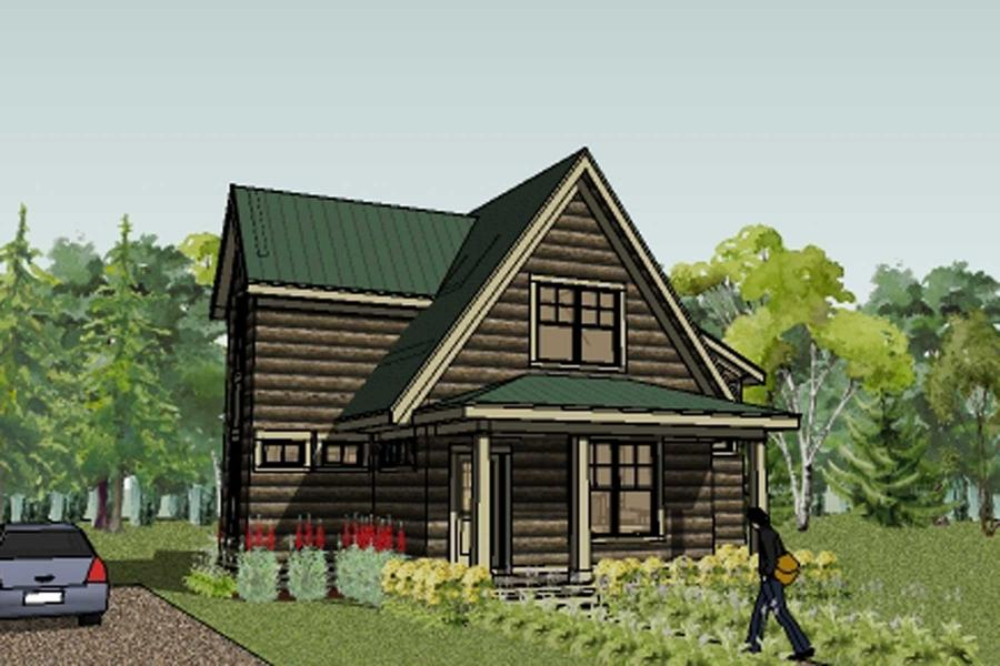 Cottage house photo for Classic cottage house plans