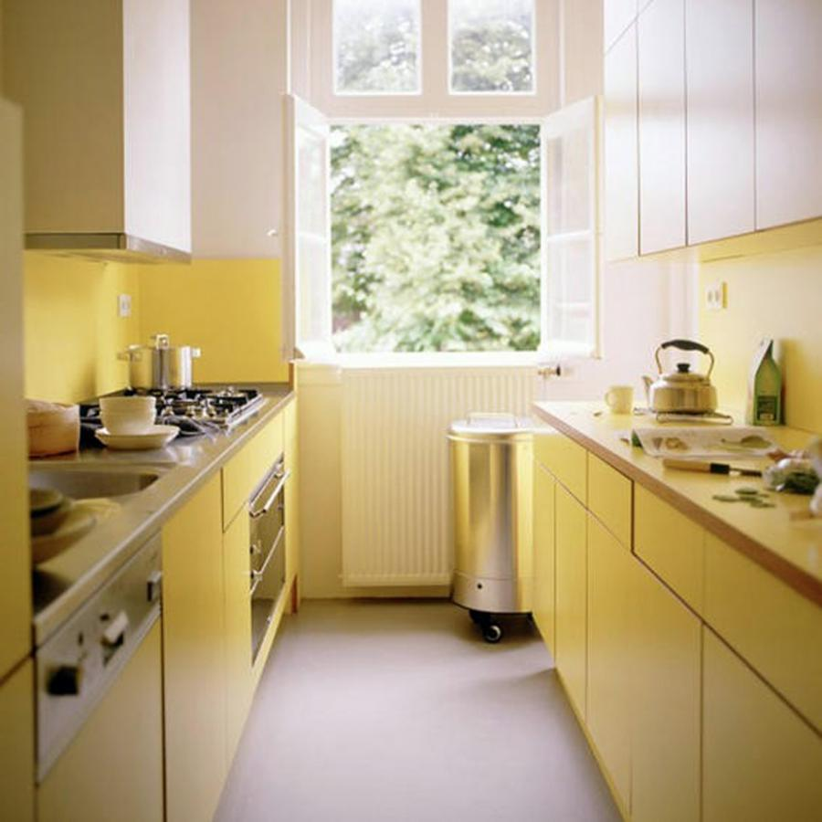 Photos kitchen designs small - Narrow kitchen designs photo gallery ...