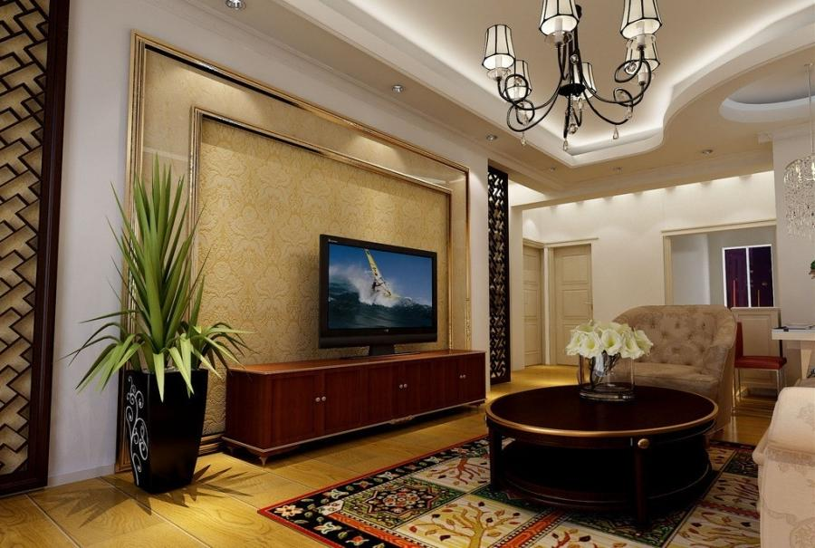 modern living room with beautiful false ceiling design 15 Modern...