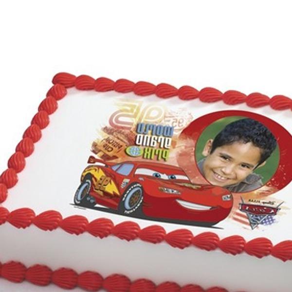 Edible cake photo decorations