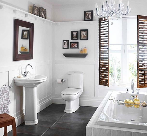 Small White Bathroom Ideas listed in: