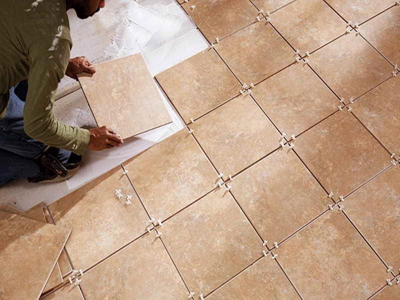 Tile floor how to