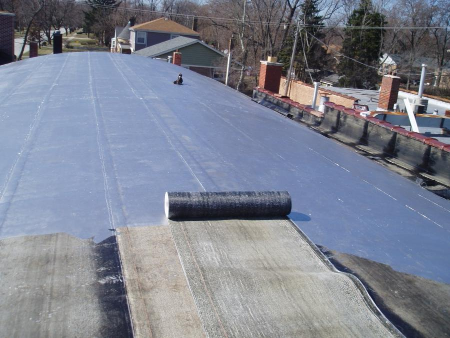 Modified Roofing Materials : Modified bitumen roof photos