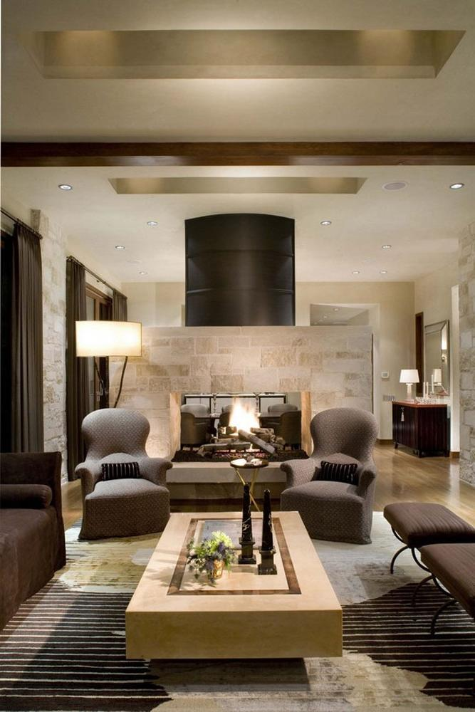Ranch style living room photos for Classique ideas interior designs inc