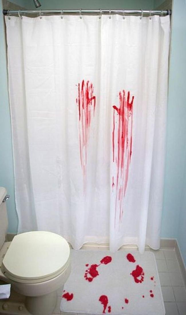 Bathroom decor shower curtains