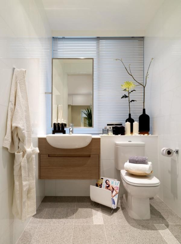 Luxurious Idea For Impressive Bathroom Designs With Plain...