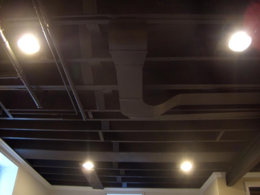 Basement ceiling ideas photos
