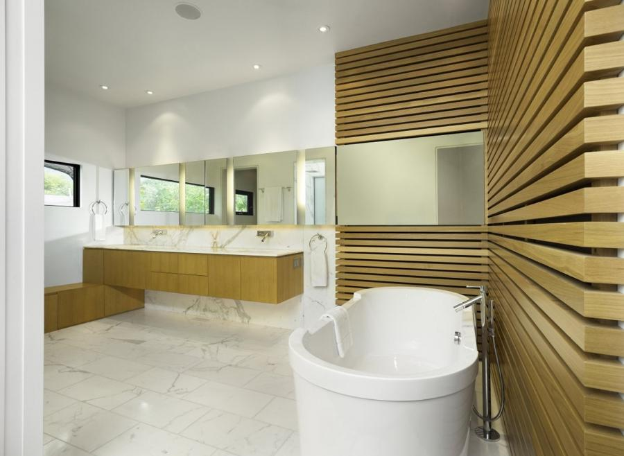 Innovative Bathroom Designing Designs With White Wooden
