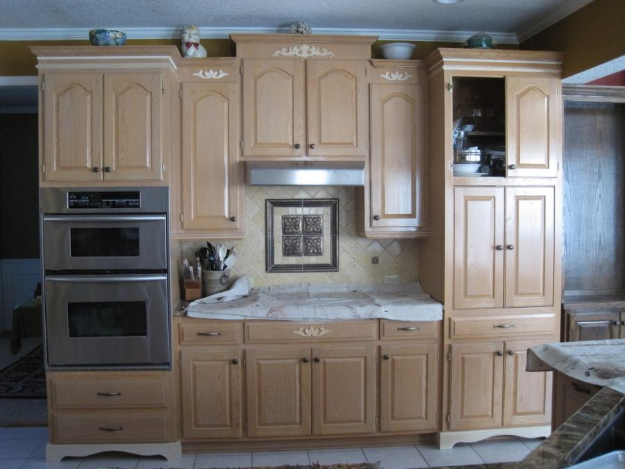 Flat Panel Kitchen Cabinets Makeover