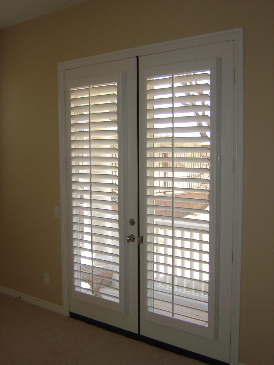 Grommeted Curtains Over French Doors. 1234...8910>