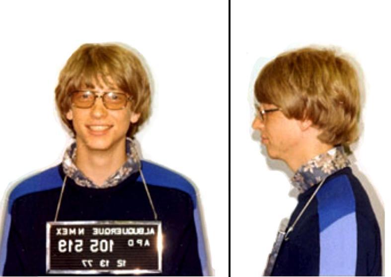 Bill gates arrest photo