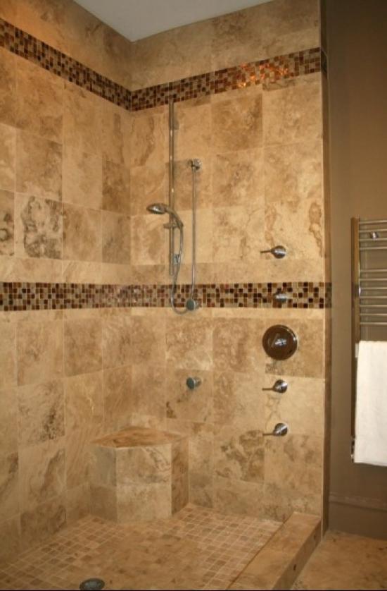 Walk in shower tile designs photos for Bathroom tile shower design ideas