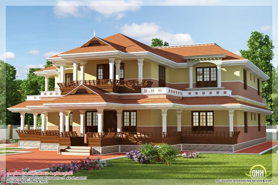 Fantastic Kerala Model House  VangViet Interior Design source