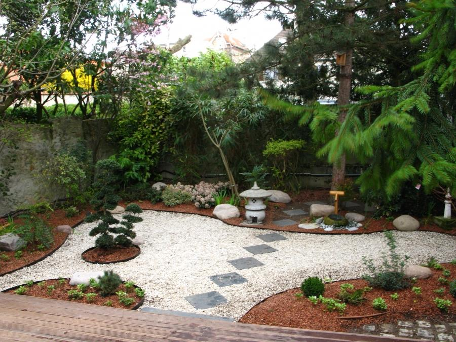 Photo de decoration de jardin exterieur for Idee creation jardin japonais