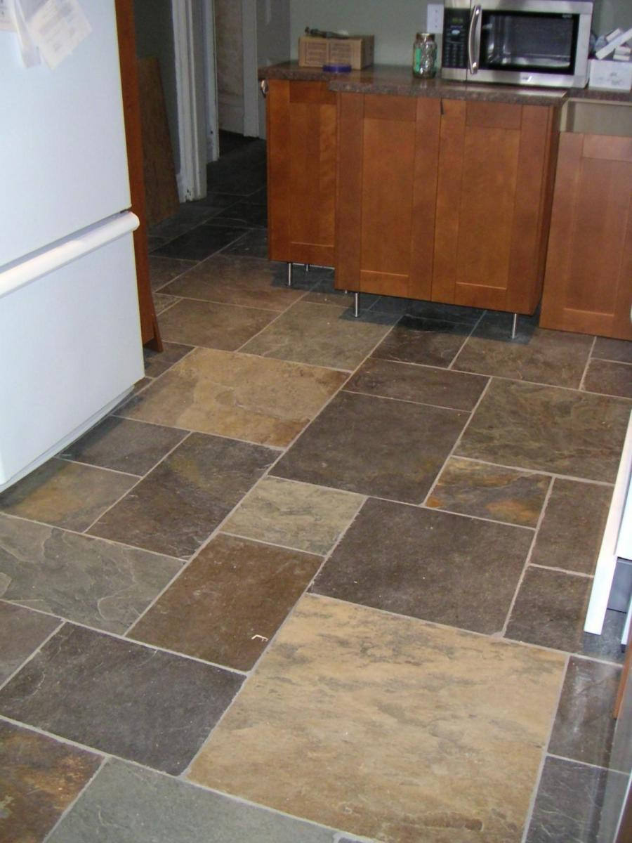 Stone Kitchen Inspiration Flooring