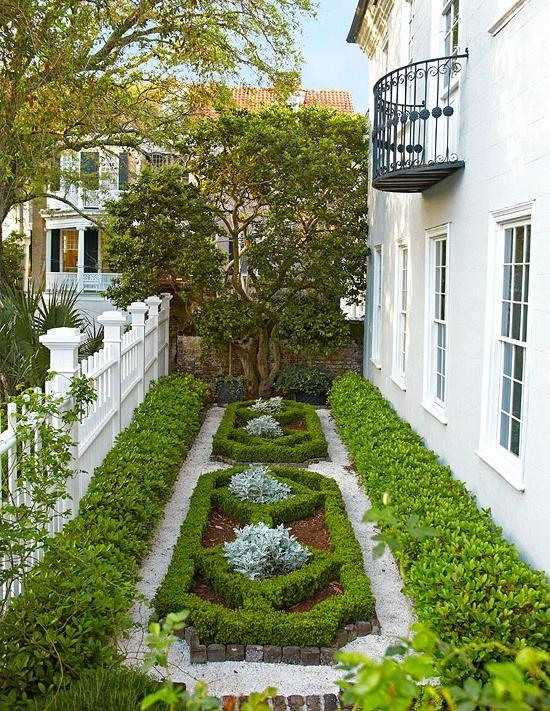 Parterre garden design photos