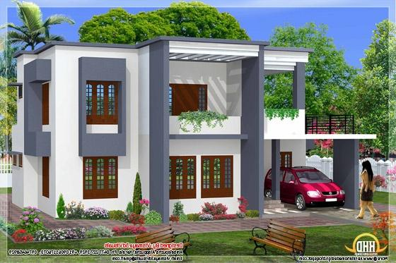 Simple house elevation photos