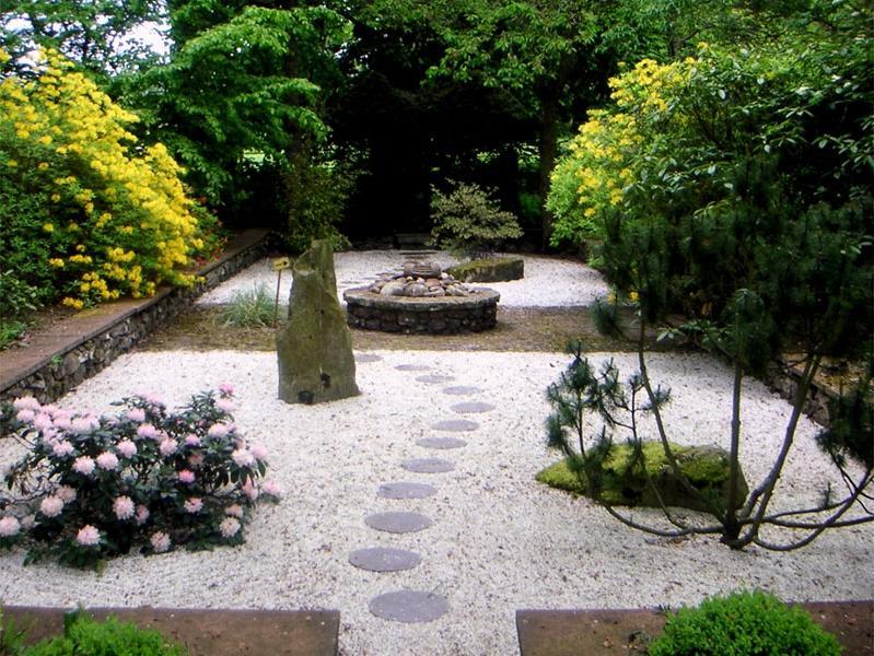 Small japanese garden photos for Japanese garden small space