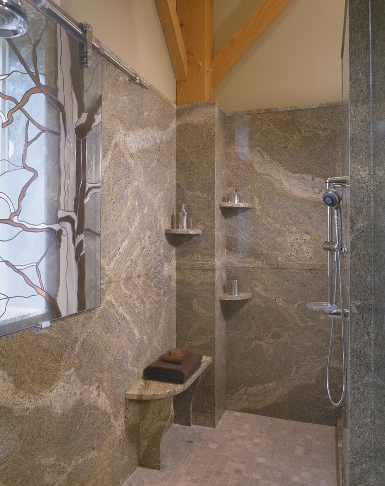Can you use ceramic tile in a shower