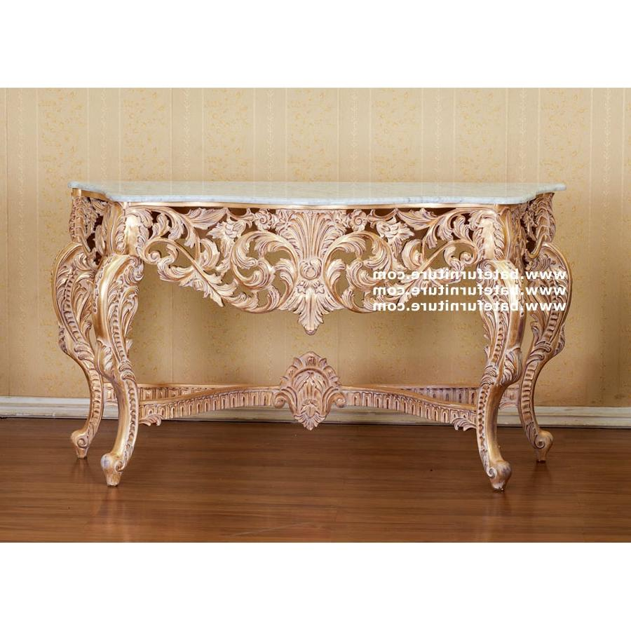 Buy Heavy Carved French Console Table, High Quality French...
