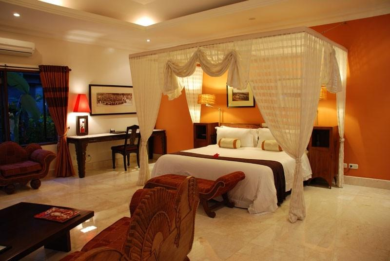 Home Design Balinese Bedroom Interior Design With Canopy Bed