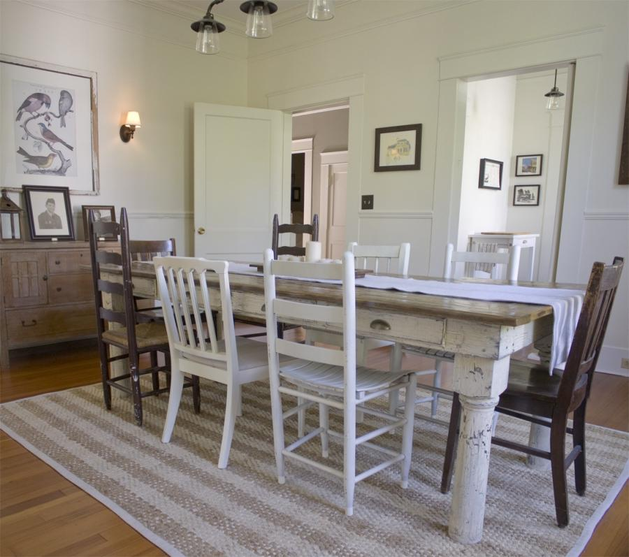 Country Cottage Dining Room Photos