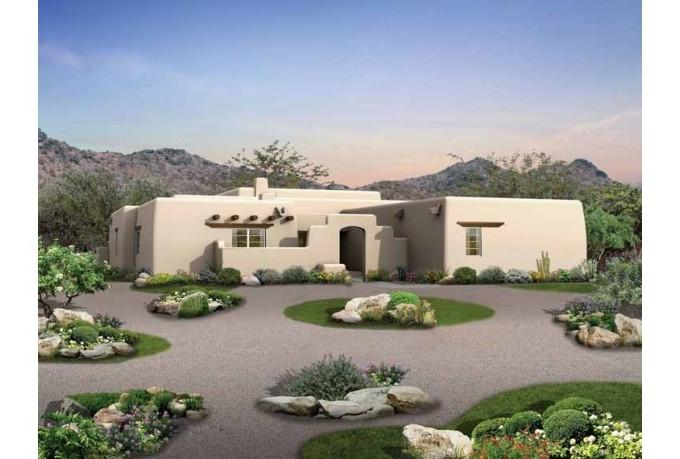 Adobe house plans with photos for Adobe house construction cost