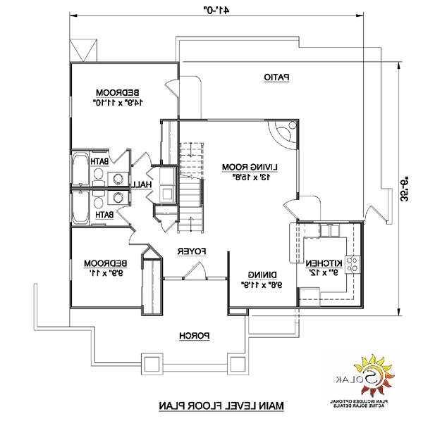 Southwestern house plans with photos for Pueblo style home plans