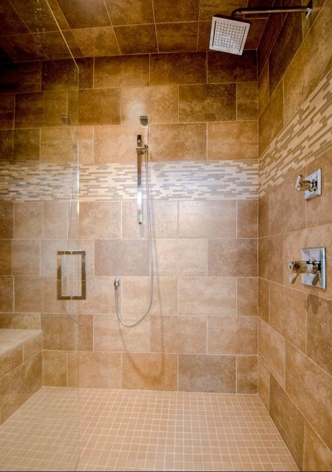 Tiled Walk In Showers