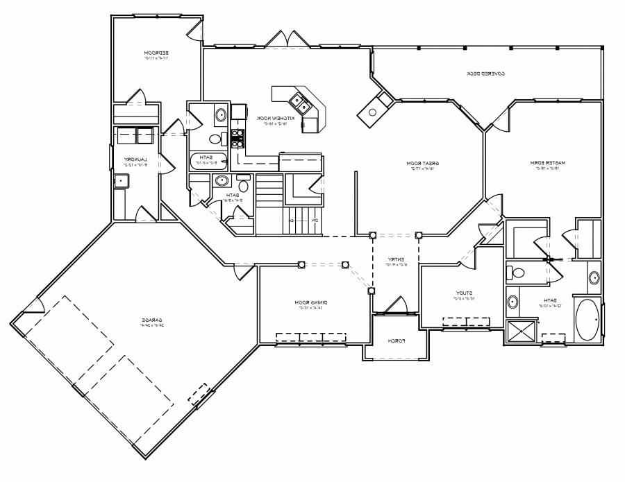 Photo gallery house plans for Empty nester home plans designs