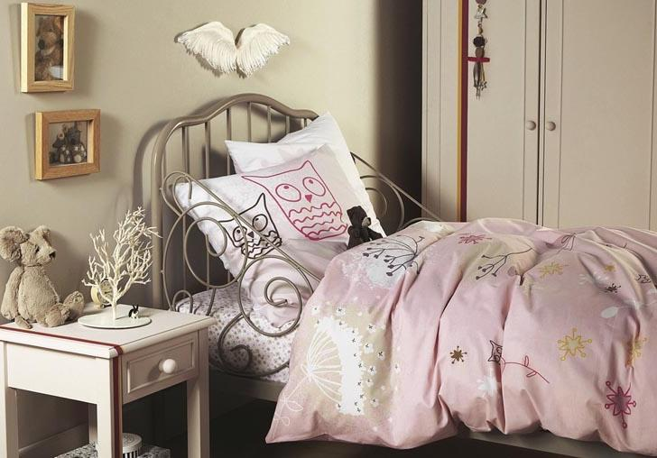 pink and brown kids room decorating ideas from vertbaudet u2013