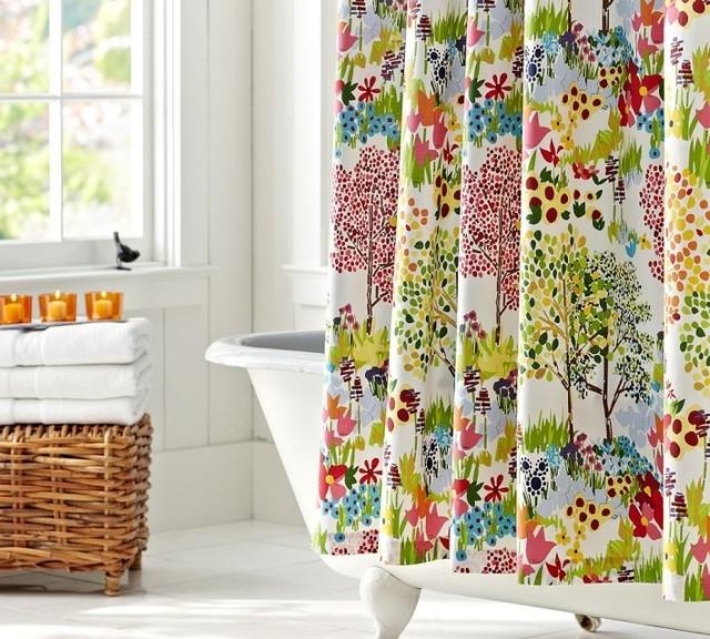 Swell Acquainted Shower Curtain;...