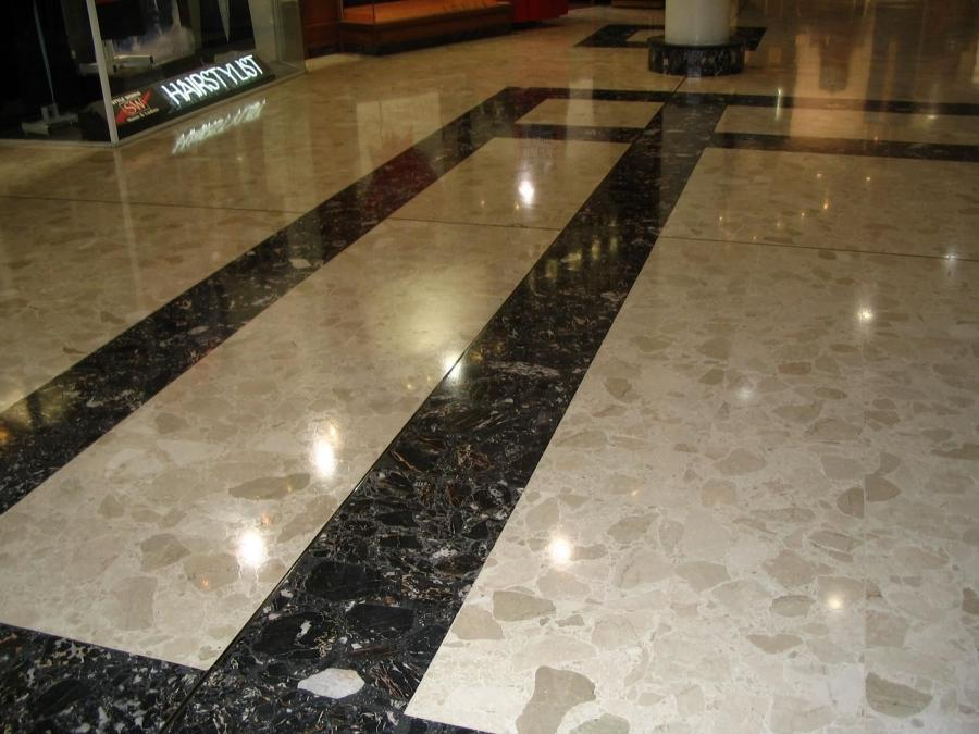 Get Stripes Design Marble Flooring ...