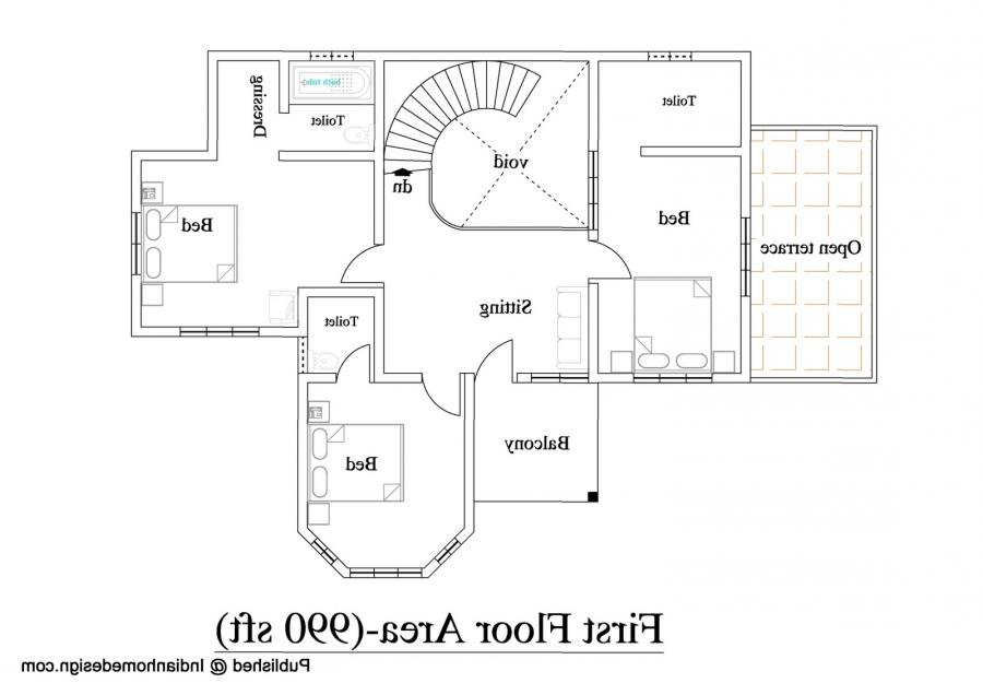 28 2600 sqft 4bhk house plan plan 64195 2 600 sq ft for 2600 sq ft house plans