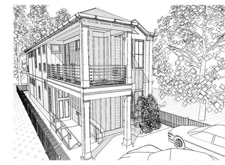 Shotgun style house plan for sale source