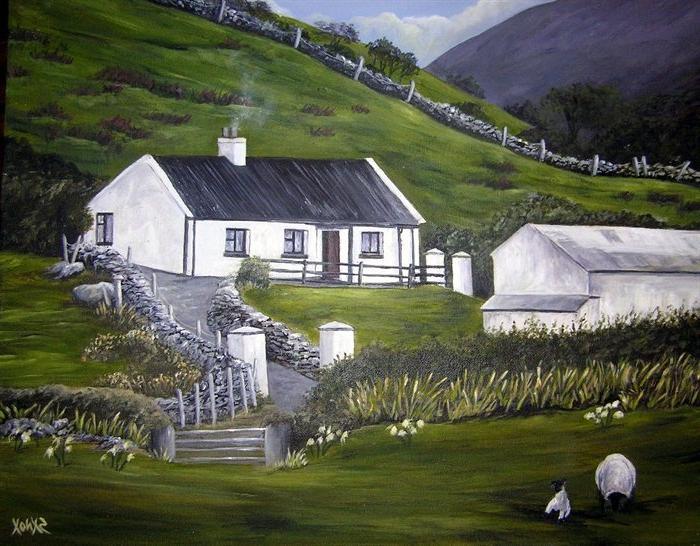 Traditional Irish Cottage Photo