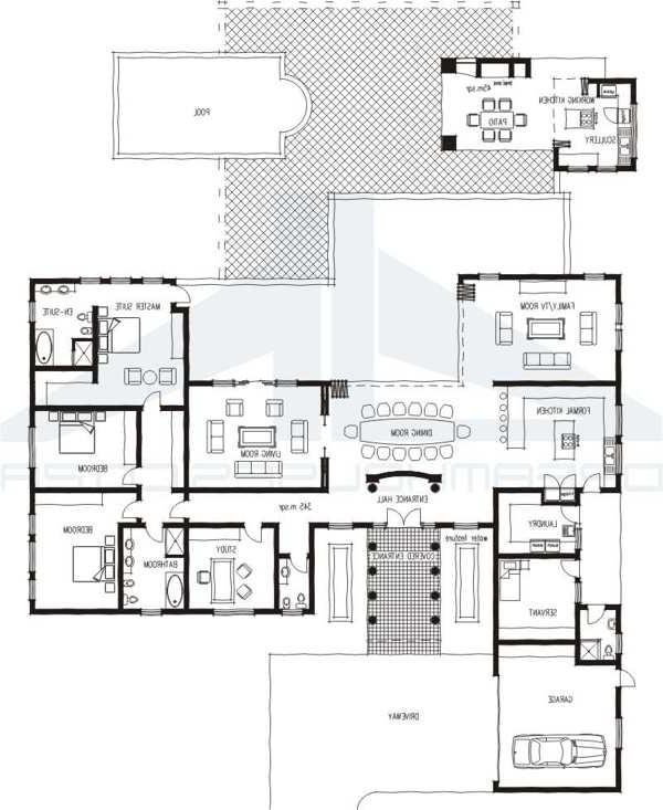 Tuscan house plans with photos in south africa for Sa house plans