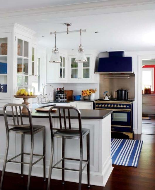 Blue And White Kitchen Photos