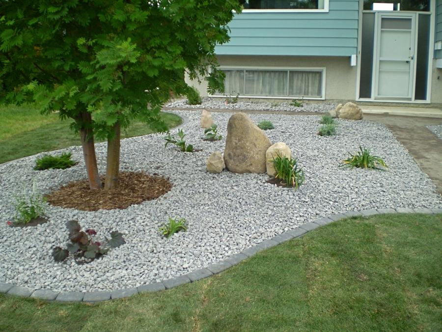 Landscaping With Stones Photos