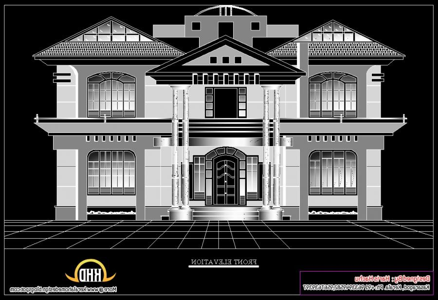 Residential House Front Elevation Photos : Residential house front elevation photos