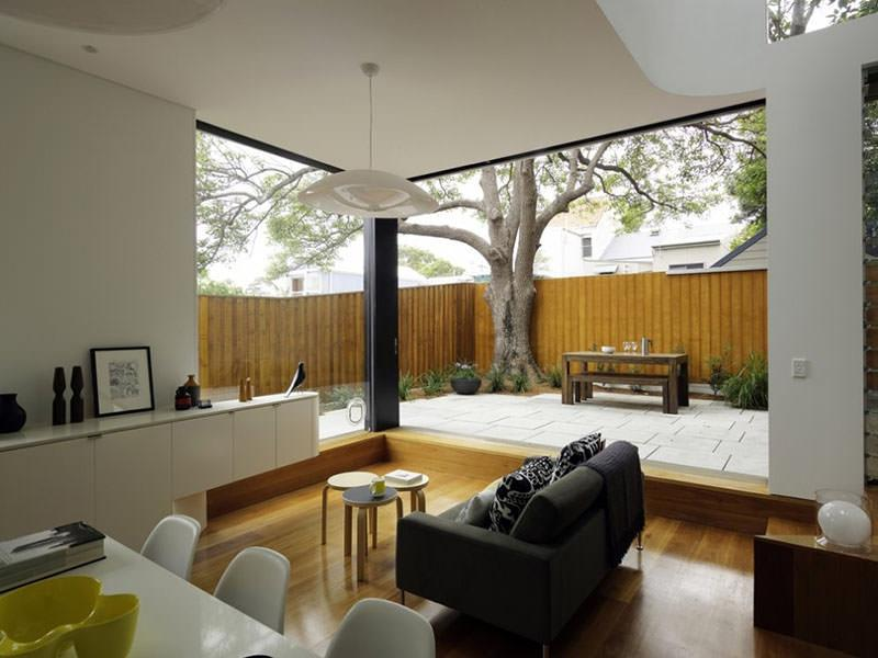 ... whiteness interior style simple modern house ...