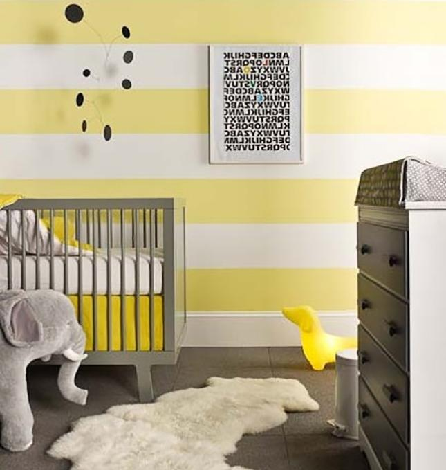 Babyzimmer gestalten wande